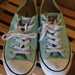 Converse Shoes - Teal converse
